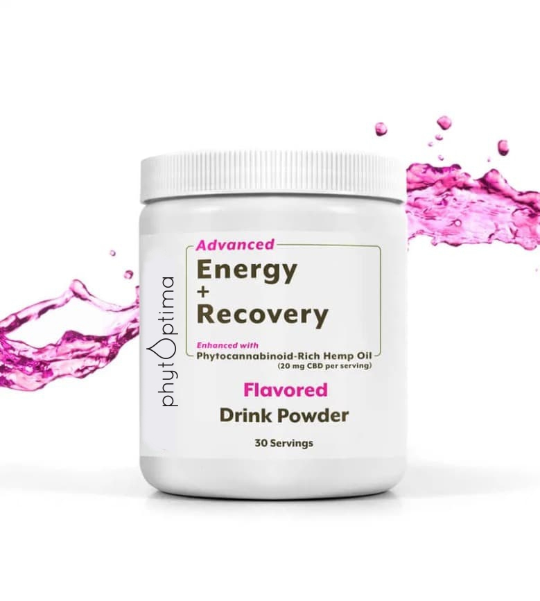 CBD Energy + Recovery Drink Powder